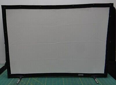 """Da-Lite Fast-Fold Mini Projection Screen with Carrying Case  28""""x19"""" Screen Size"""