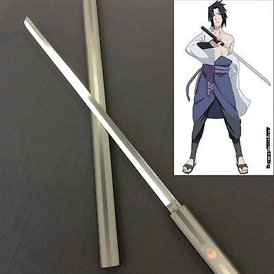 Naruto Animation Sasuke Kusanagi Sword Black w/Single Sword Stand