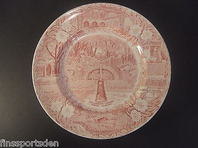 Vintage BELLINGRATH GARDENS Souvenir Collector Plate Grotto Well Mobile Alabama