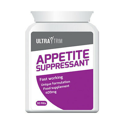 Ultra Trim Appetite Suppressant Pill –  Lose Body Fat & Weight Fast Tablets!