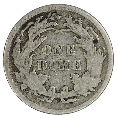USA 1877 One Dime Coin F