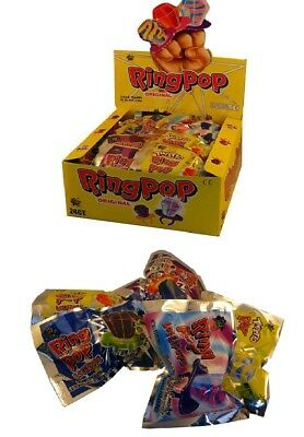 Bulk Lollies 24 x RING POP Party Favor Confectionery Birthday Loot Bag Sweets