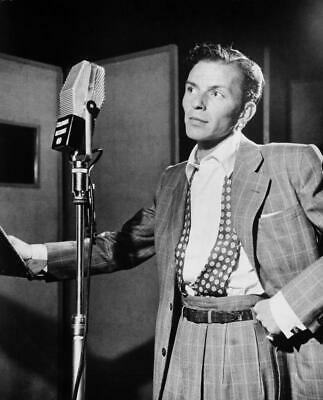 Frank Sinatra Film Actor Singer Glossy Black & White Photo Picture Print A4