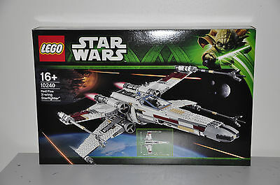 Lego Star Wars 10240 Red Five X-wing Starfighter Brand New (Hard to Find)