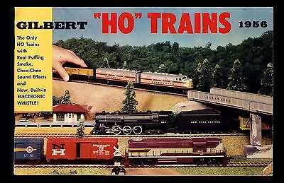 "Vintage 1956 ""gilbert Ho Trains Catalog"" Puff Smoking Locomotives/sound Effects"