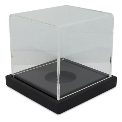 """3.75"""" Collectible Baseball Clear Plastic Display Case"""