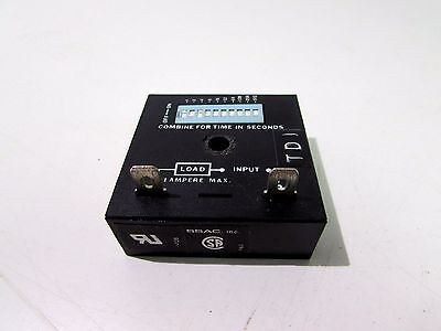 Ssac Tdu3000A Solid State Timing Switch **xlnt**