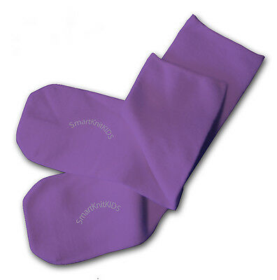 Purple Absolutely Seamless Socks - SmartKnit Kids - 1 Pair