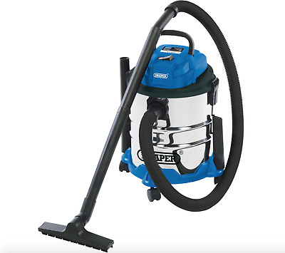 WNB Wet and Dry Vacuum Vac Cleaner Industrial 20Litre 1250w 230v Stainless Steel