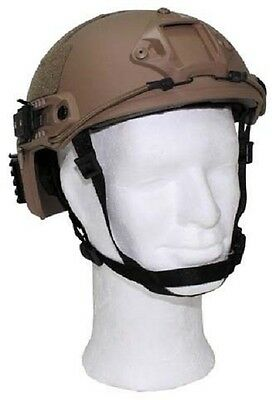 US MICH TC2001 Army Helmet Training Helm FAST with Rails coyote