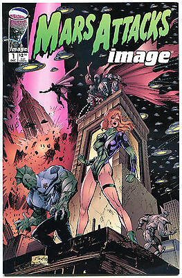 MARS ATTACKS IMAGE #1 2 3 4, VF/NM, Martians, 1996, 4 issues, more MA in store