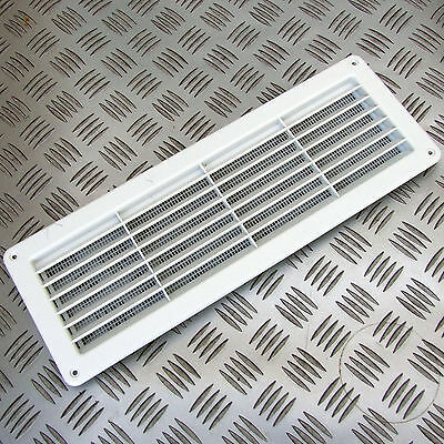 VENT EXTERNAL or INTERNAL 370 x 130mm + MOSQUITO NET CARAVAN MOTORHOME CI cm 170