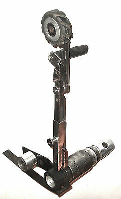 Stephen Bader Co Belt Grinder  Pneumatic Portable Wide Variety Of Contact Wheels