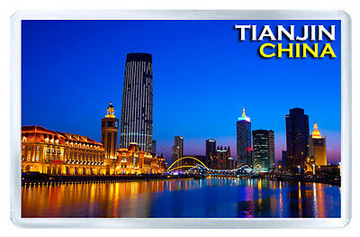 Tianjin China Mod2 Fridge Magnet Souvenir Iman Nevera