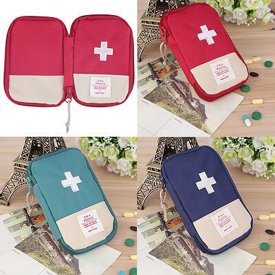 New Mini Outdoor Camping Home Survival Portable First Aid Kit bag Case OE#