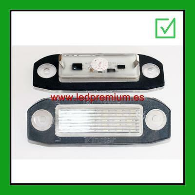 2x LED NUMBER PLATE LIGHTS VOLVO C70 II '06 CANBUS