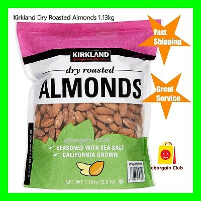 Kirkland Whole Almonds 1.36kg 3lb US Supreme Almond Product of USA