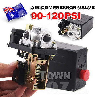 90-120PSI Solid Air Compressor Switch Pump Pressure Control Valve Heavy Duty