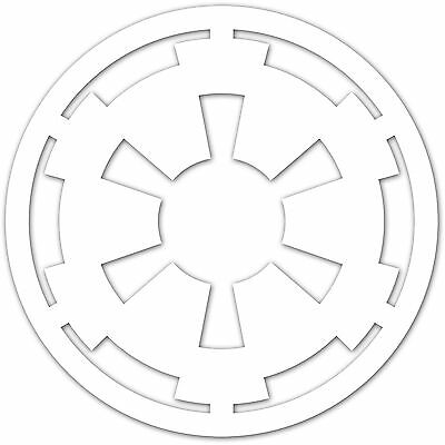 "Star Wars Imperial Navy Star Crest Logo 2"" Decal Sticker Galactic Empire (2x)"