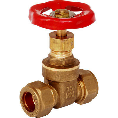 NEW 8 x plumbing Gate Valve 28mm Each FreePost.UK Seller