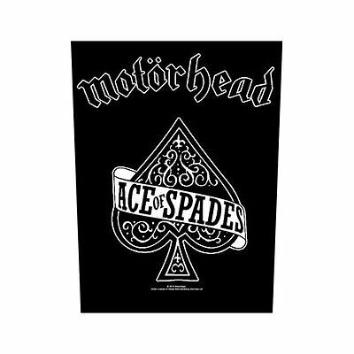 Motorhead Fabric Back Patch (100% Official Memorabilia Sew On) Lemmy