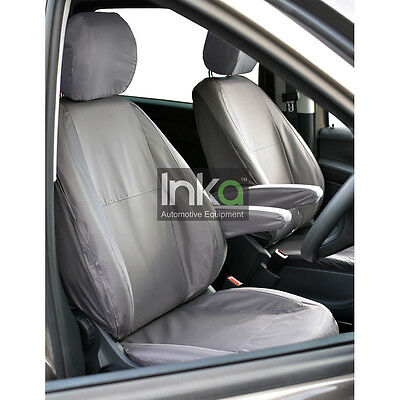 Mercedes Vito Front Double Inka Fully Tailored Waterproof Seat Cover Grey 03-14