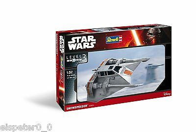 Star Wars VII Revell 03604 Model construction set Snowspeeder on a scale of 1:52