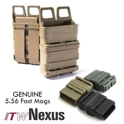 Genuine ITW Nexus Gen 3 Fast 5.56 Mag Pouch Molle & Belt Mounting Stackable