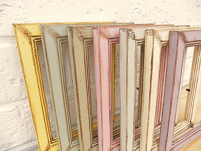 Photo/Picture Frame/Antique/Vintage/Shabby Chic/Choice 7 Vintage Colours/3 Sizes
