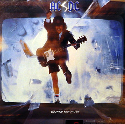 AC/DC. Blow up your Video. CSSR-Press. 1988. NM