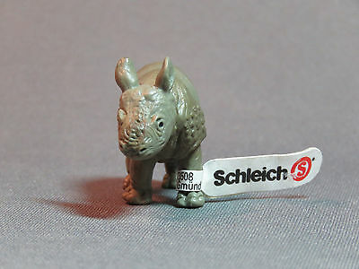 Schleich Rhinoceros Calf Retired wild animal baby 14130 new ah