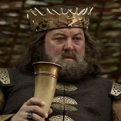 Game of Thrones Brass designed Viking Drinking Horn chalice cup of ale beer wine