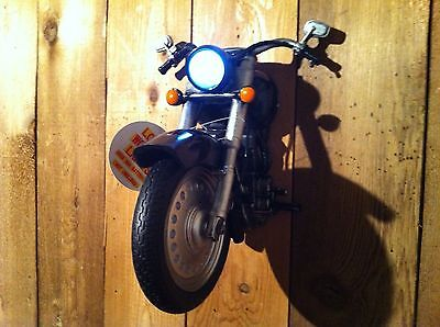 Motorcycle Resin 3D Nightlight - USA items ships from warehouse in USA