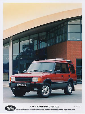 Land Rover Discovery XS Series II Press Photograph - 1996
