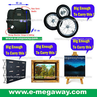 Big Banner Display Paintings Arts Print Photo Frame Travel Show Bags MegawayBags