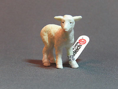 Schleich White Lamb Sheep RETIRED 13113 NEW ah