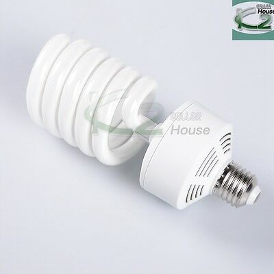 45W 5500K Photo Studio Day Light Balanced CFL Bulbs Compact Fluorescent Lamp US