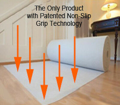 Rug Anti Slip Underlay for Hard Floors - Rug Gripper Mat/Pad - many size options