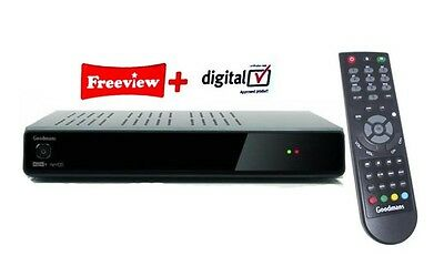 Goodmans GD11FVRSD50 Freeview+ Twin Tuner PauseTV Recorder 500GB DVR 12 MTHS WTY
