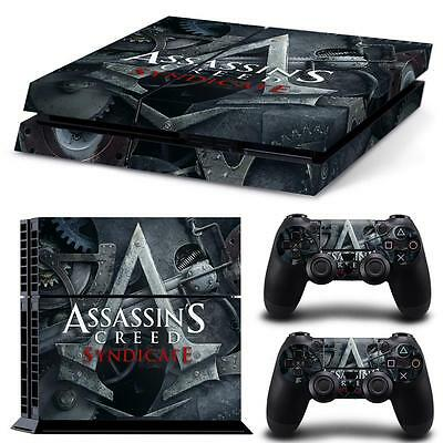 Assassins Creed | Full Body Wrap Vinyl Skin Kit for PS4 Console 2 remotes