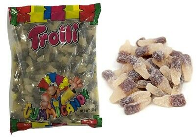 2 kg x TROLLI SOUR COLA BOTTLES LOLLIES BULK PARTY FAVOR LOLLY CANDY FAVOUR BAG