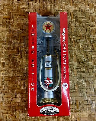 GearBox Texaco Sky Chief  Wayne Gas Pump Replica NIB Limited Edition 1:24 scale
