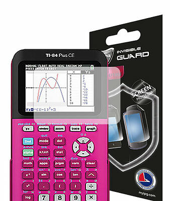 Texas Instruments TI-84 Plus CE Color Graphing Calculator Screen Protector