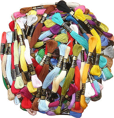 100 New ANCHOR Thread. 100 different Great Colours BEST PRICE, Bargain