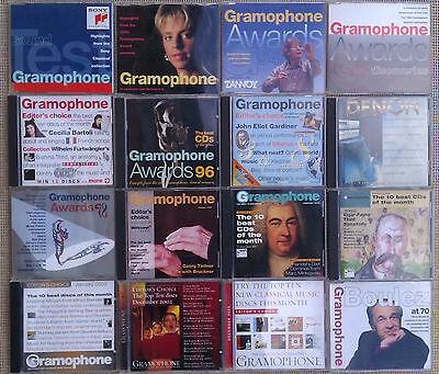 The Gramophone -The Classical Music Magazine Cd - Miulti Listing.