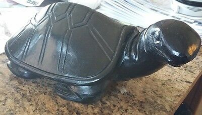 SOLID marble turtle