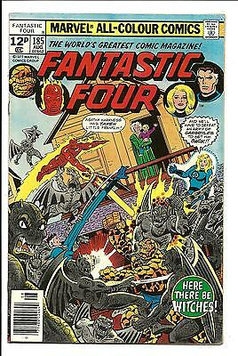 Fantastic Four # 185 (Aug 1977), Vf