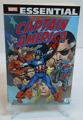 The Essential Captain America Volume 6 Marvel TPB Trade Paperback Brand New 206