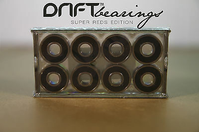 8 x DRIFT SUPER EDITIONS BEARINGS/ SCOOTERS/SKATEBOARDS/INLINE SKATES/LONGBOARDS