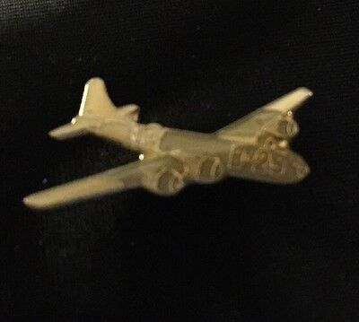 Vintage Boeing B-29 Superfortress Bomber Plane Lapel Pin Hat Pin WW2 NOS